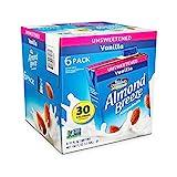 Blue Diamond Almond Breeze Unsweetened Vanilla, 32-ounce (Pack of 6)