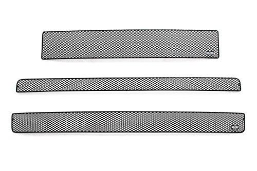 GrillCraft T1850-51B MX Series Grille Upper/Lower Insert Kit Steel Mesh Pattern Black Powder Coat Top Finish MX Series Grille Upper/Lower Insert Kit (Grillcraft Scion Xb Grille)