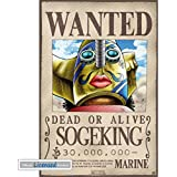 Posters: One Piece Mini Poster - Wanted Sogeking (52 x 35 cm)