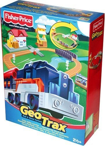 - GeoTrax Rail and Road System: Cross Valley Junction Playset