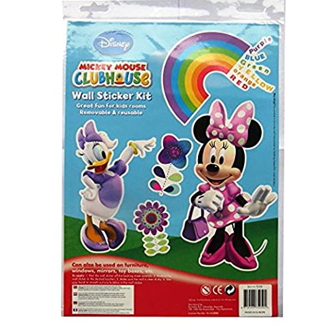 Large Wall Decoration Sticker Kit - Minnie Mouse & Friends - by (Amici Pacchetto)
