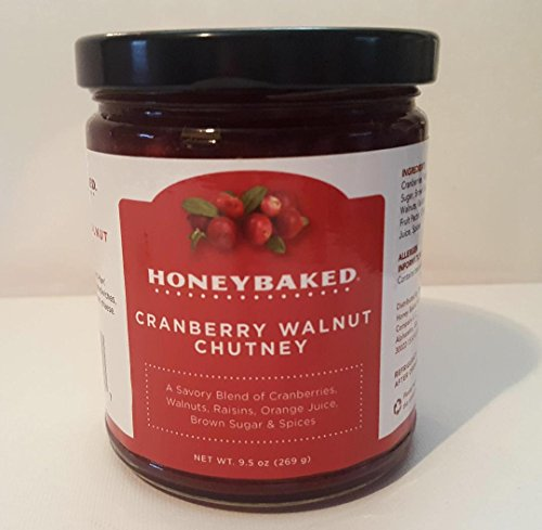 Honey Baked Ham Cranberry Walnut Chutney 9.5 Oz