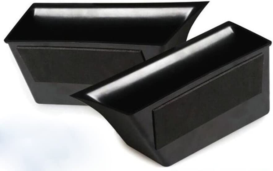 Salusy 2pcs Front Interior Armrest Storage Box Container Holder for Mercedes-Benz GLK-Class GLK350 2010-2015