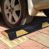 "Grepatio 72""Heavy Duty Parking Block Curb"