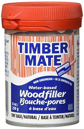 (Timbermate Wood Filler, Water Based, 8oz, Natural)