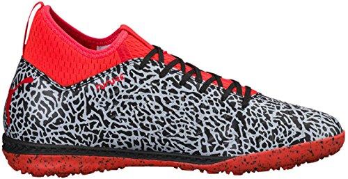 Puma Männer Zukunft 18.3 Textur TT Schuhe Puma White/Puma Black/Red Blast