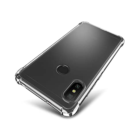 SLEO Funda para Xiaomi Mi A2 Lite/Xiaomi Redmi 6 Pro Carcasa Protectora Silicona TPU Suave Ultra Delgada Flexible Case Bumper con Esquinas Reforzadas ...