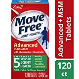 Best Joint Pain Reliefs - Move Free Advanced Glucosamine Chondroitin MSM and Hyaluronic Review