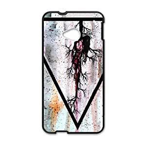HTC One M7 Cell Phone Case Black_THE GRIME AND THE GLOW Opitp