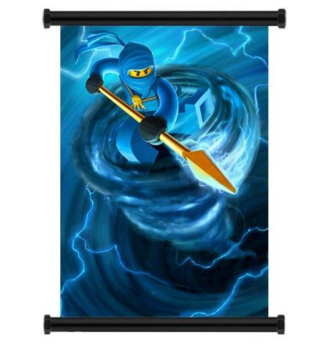 Ninjago de Lego Póster de desplazamiento de pared Carcasa de ...