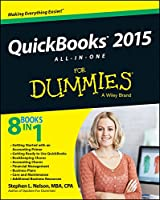 QuickBooks 2015 All-in-One For Dummies Front Cover