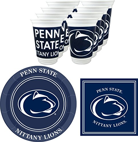 Penn State Nittany Lions Party Pack - 48 pieces ()