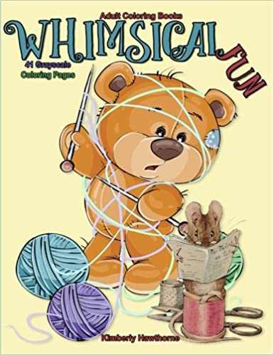 Amazon Com Adult Coloring Books Whimsical Fun 41 Grayscale