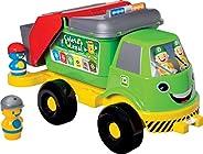 Caminhão Coleta Seletiva com Som Merco Toys Grande