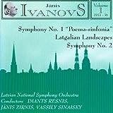 Ivanovs: Vol 1. Symphonies 1 & 2