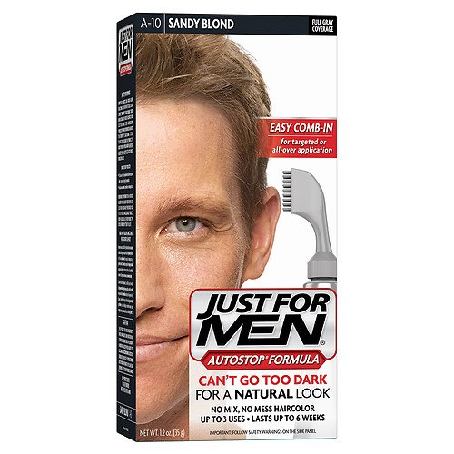 Just For Men AutoStop Haircolor, Sandy Blond A-10 1 ea (PACK OF 12) by Just for Men