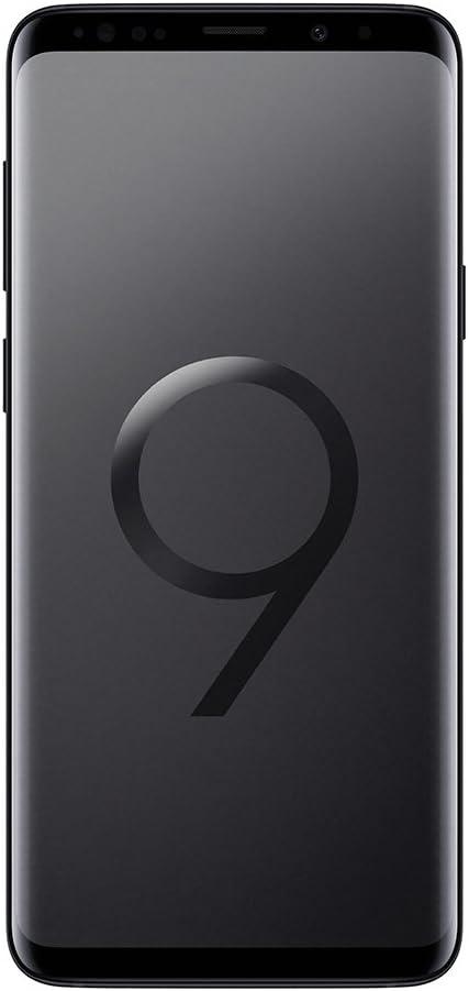 Samsung Galaxy S9 (Dual-SIM) 64GB SM-G960F Factory Unlocked 4G Smartphone (Midnight Black) - International Version