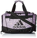 adidas Defender III Duffel Bag, Black/True Pink Jersey Fleck/True Pink, One Size