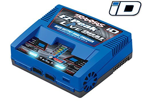 Traxxas Ez Peak Live Dual, 200W Multi-Chemistry Charger with ()