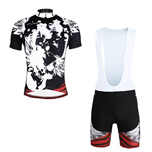 paladinsport-black-short-sleeve-cycling-clothing-for-men-and-bib-shorts-set-size-xxxl