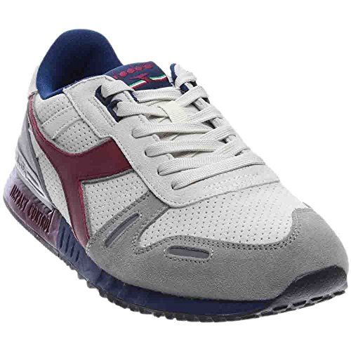 Diadora Men's Titan Premium Skateboarding Shoe, Saltire Navy Bordeaux, 10.5 M US by Diadora