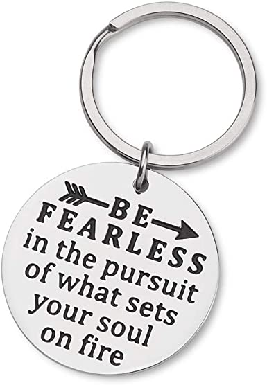 Graduation Birthday Christmas Gifts Inspirational Keychain for Her Him