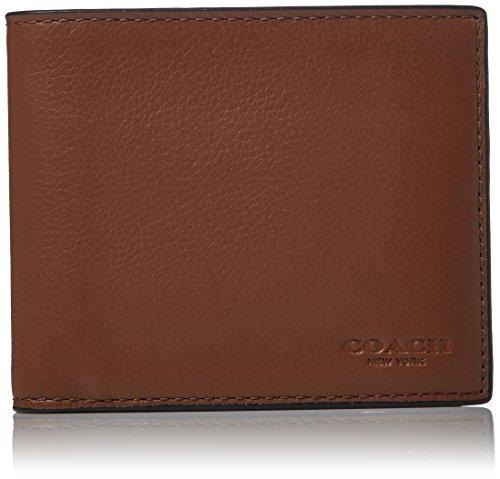 Saddle Black Dark Set 3 Mens COACH 1 Leather in Wallet zB8w4q