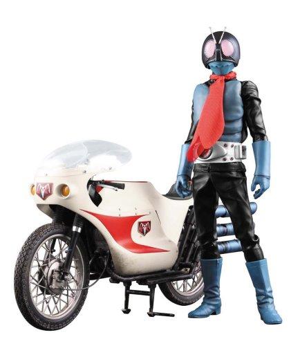 RAH DX 仮面ライダー旧1号 Ver.3.5&サイクロン号 「仮面ライダー」 リアルアクションヒーローズ No.444の商品画像