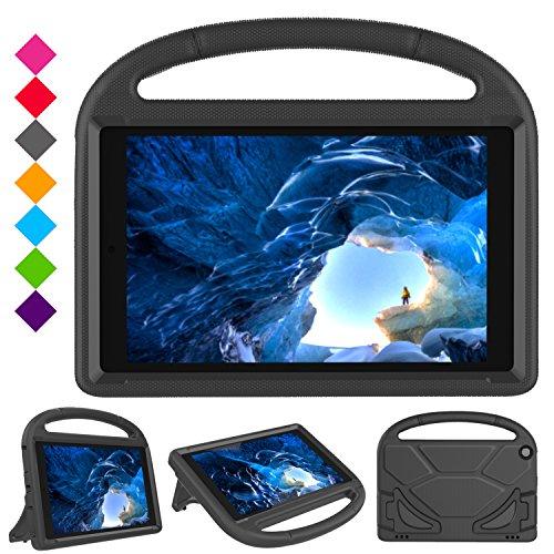 Case for All-New Amazon Fire HD 10 Tablet (5th Gen, 2015 / 7th Gen, 2017) [Kids Friendly] Light Weight Shock Proof…