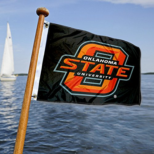 - Oklahoma State University Golf Cart and Boat Flag