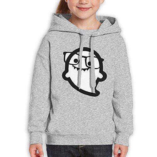 Teenagers Hi I'm Ghost Sunglass Teen Hoodies Ash Pullover Hooded Youngsters Sweatshirt With Boys - Wiz Khalifa Sunglasses