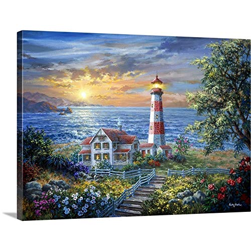 GREATBIGCANVAS Gallery-Wrapped Canvas Entitled Enchantment by Nicky Boehme 48