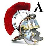 AnNafi Roman Centurion Helmet Armor with Red