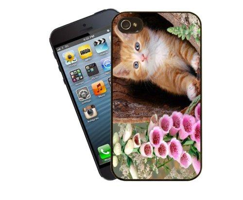 Katze-Telefon-Fall, design 5 - für Apple iPhone 5 / 5 s - Cover von Eclipse-Geschenkideen