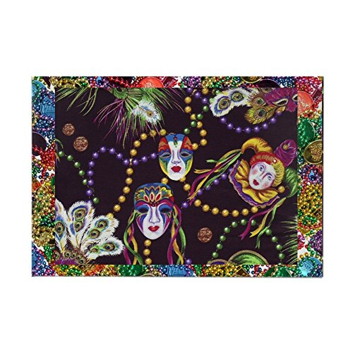CafePress Best Seller Mardi Gras Magnets Rectangle Magnet, 2