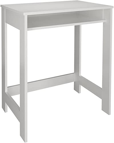 Selon Simple White Study Desk