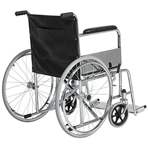 Best-Choice-Products-24in-Lightweight-Folding-Wheelchair-w-Swing-Away-Footrest-and-Carry-Pockets-Black