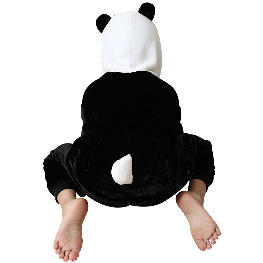 cf73f333a72ce Missbleu Deguisement enfant pyjama combinaison animaux pyjama polaire  enfant Panda taille 130  Amazon.fr  Bébés   Puériculture