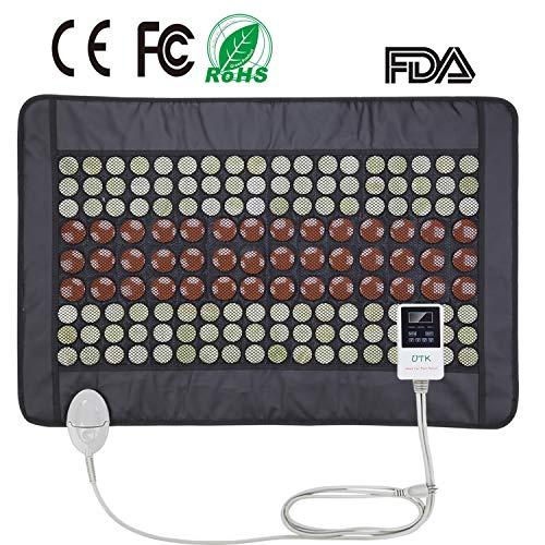 UTK® Far Infrared Natural Jade&Tourmaline Heating Pad for P