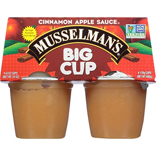 Musselman's Big Cup Cinnamon Apple Sauce, 6 Ounce (Pack of 12) by Musselmans (Image #3)
