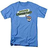 Dexter's Laboratory Logo Mens Short Sleeve Shirt CAROLINA BLUE 4X
