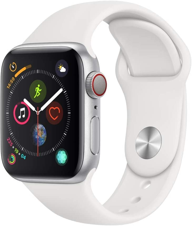 Apple Watch Series 4 Smartwatch OLED Cellulare GPS, Argento