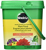 Miracle-Gro 2756910 Water Soluble All Purpose Plant Food 24-8-16 1.5Kg