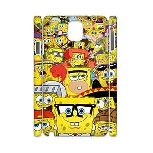 ANCASE Custom Color Printing SpongeBob Phone 3D Case For Samsung Galaxy note 3 N9000 [Pattern-4]