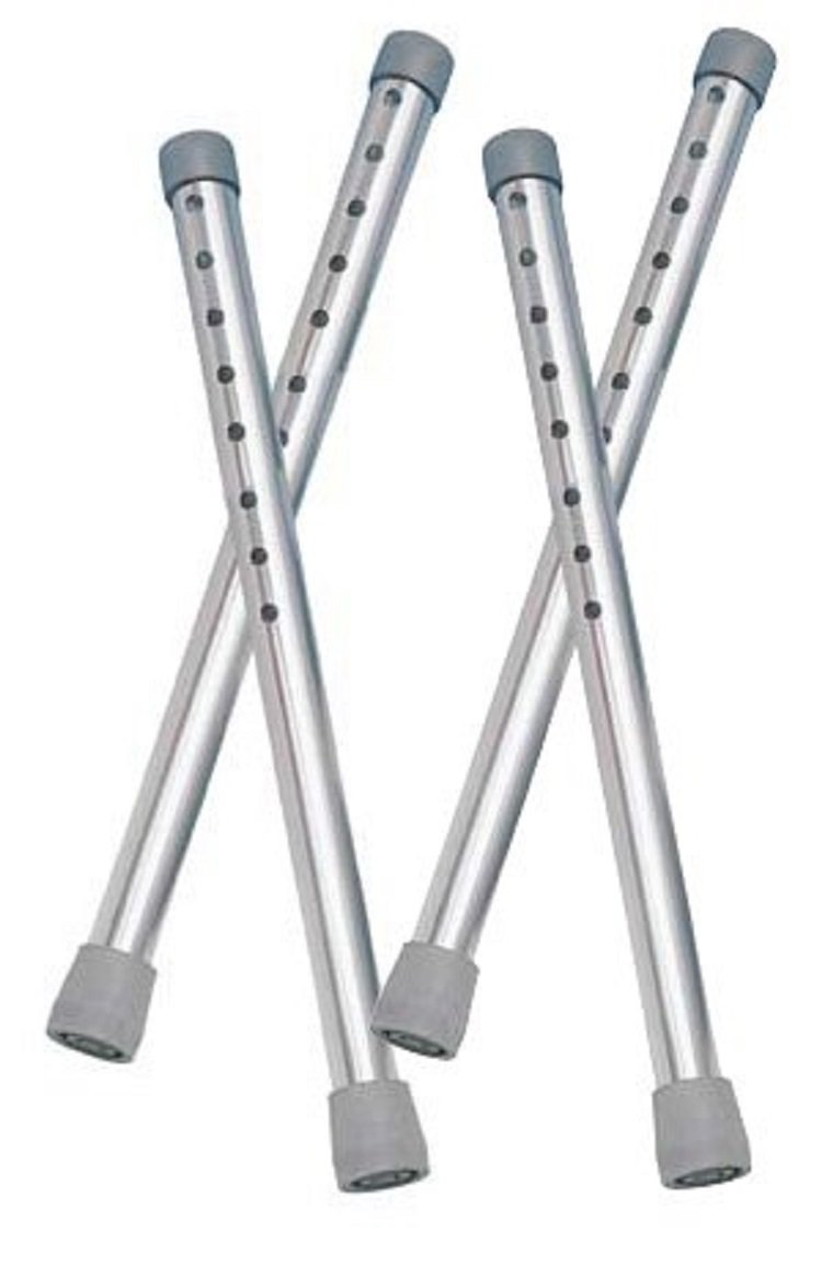 Drive Medical Walker Tall Extension Legs, Gray by Drive Medical