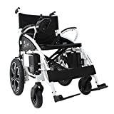 Culver Electric Wheelchair - Foldable Lightweight Heavy Duty Electric Power 2018 Best Model
