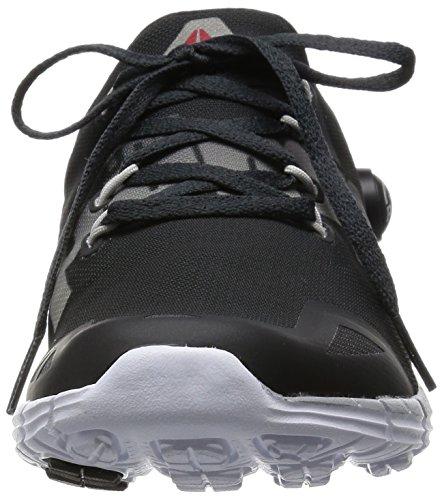 Reebok Chaussures Running ZPUMP FUSION 2.0 ELE femme Coal-steel-silver Met-white-black hI2TEOs