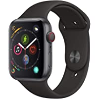 Apple?Watch Series?4 (GPS?+?Cellular 44mm) - Space Gray Aluminium Case with Black Sport Band