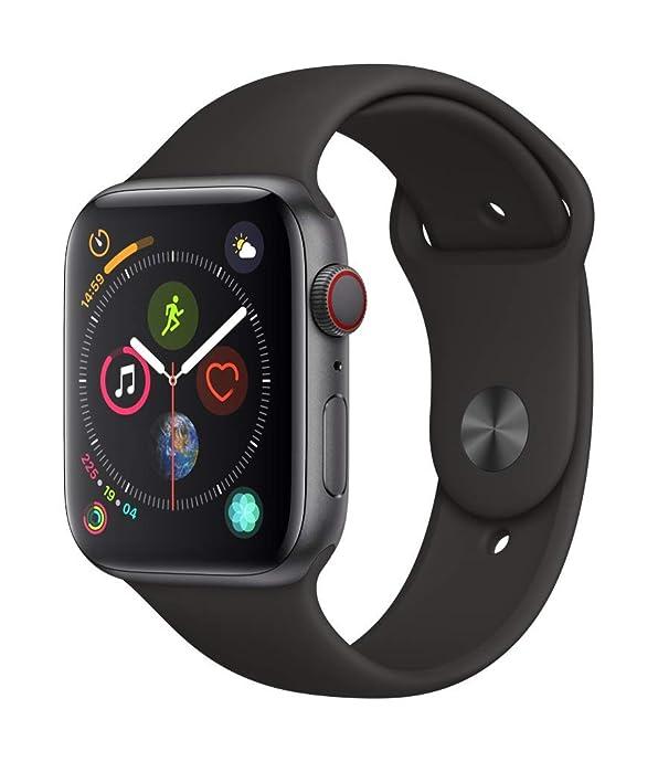 Apple 苹果 Apple Watch Series 4 智能手表 蜂窝数据版 44mm $469.99 海淘转运关税补贴到手约¥3383 国内¥3899