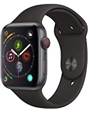 Apple Watch Series 4 (GPS + Cellular 44mm) - Space Gray Aluminium Case with Black Sport Band